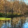 Lake in Tawawa Park located in Sidney, Ohio
