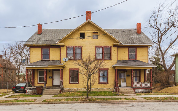 • Clark Street East • South Fountain Avenue Historic District • Springfield • Ohio • United States •