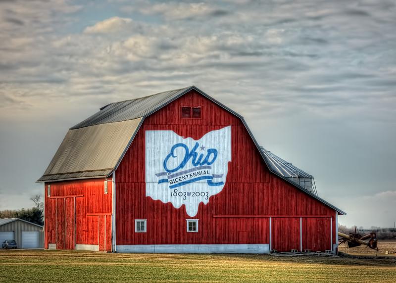 The Van Wert County Bicentennial Barn