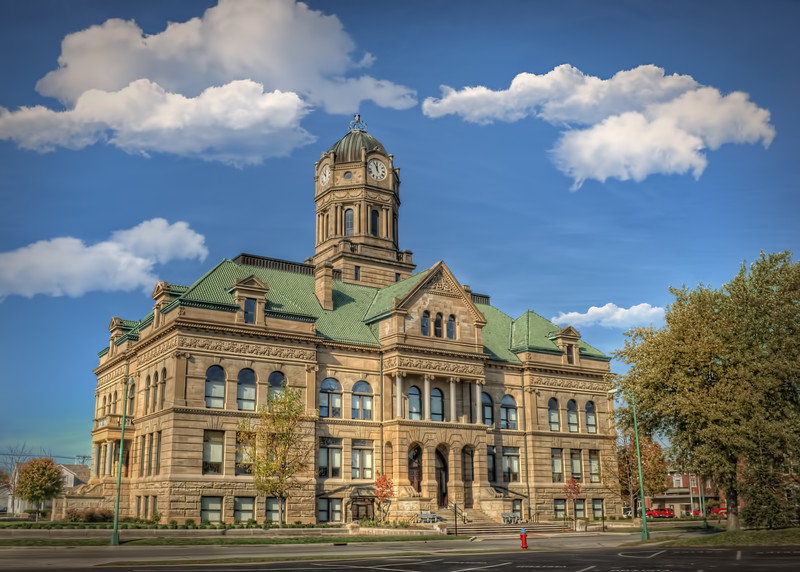 Auglaize County Ohio Courthouse