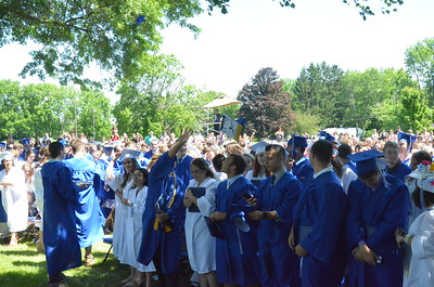 John Brewer - Oneida Daily Dispatch The Oneida High School Class of 2017 Commencement Ceremonies on Saturday, June 24, 2017.