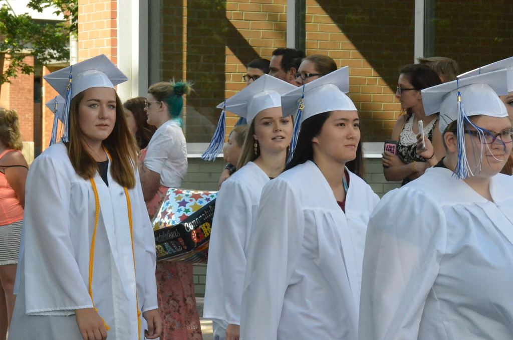 . John Brewer - Oneida Daily Dispatch The Oneida High School Class of 2017 Commencement Ceremonies on Saturday, June 24, 2017.