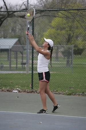 OHS Girls Varsity Tennis 04162015