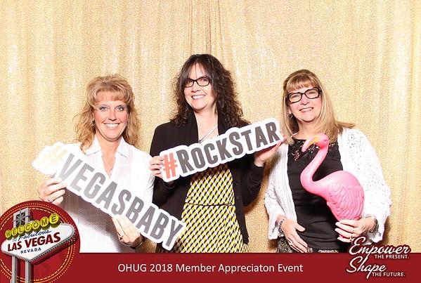 OHUG 2018 Member Appreciation Event