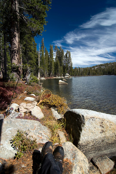 David just Fish'n @ Coyote Lake