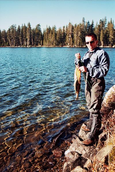 David's Catch at Cyote Lake GREEN STAR Looking North