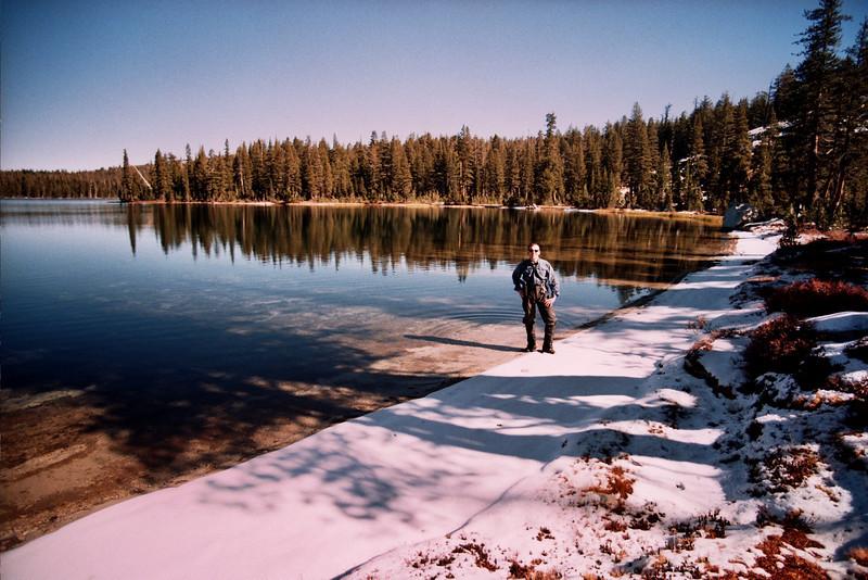 David at Cyote Lake  GREEN FLAG Looking East   10-29-05