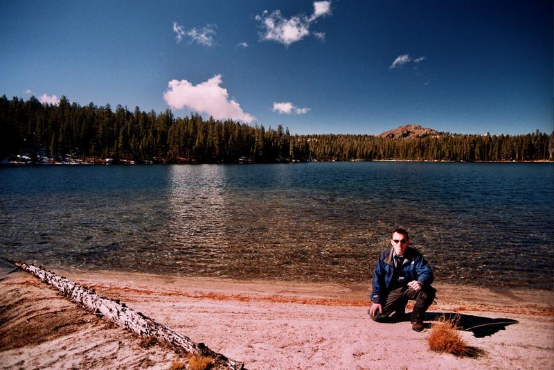 David at Cyote Lake YELLOW FLAG Looking North   10-29-05
