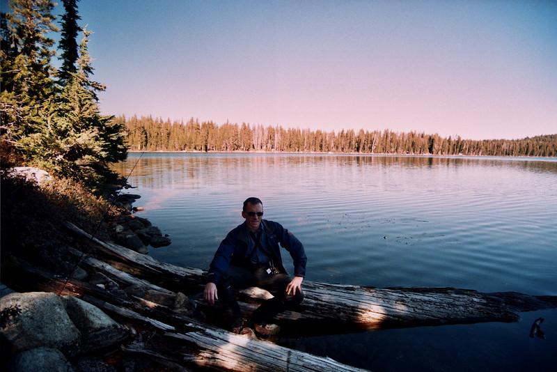 David at Cyote Lake BLACK FLAG Looking North East   10-29-05