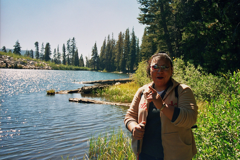 Veronica at Red Lake Pic2
