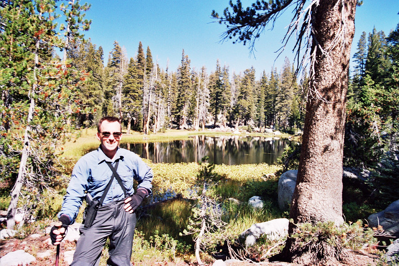 David in the Meadow by Red Lake