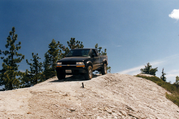 David's first 4'Wheeling Trip, Cattle Mtn, June 2002