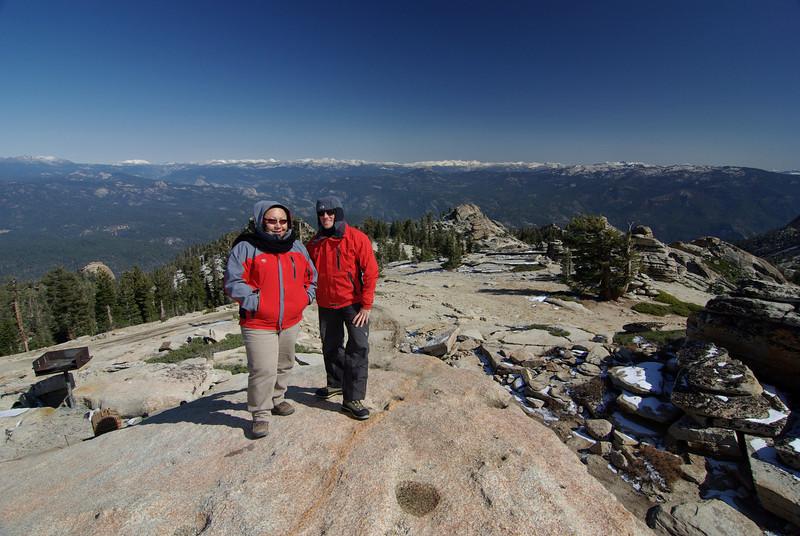 David & Veronica @ Shuteye Peak 10-2008