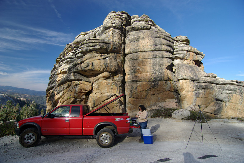 More of the Truck and the Rock