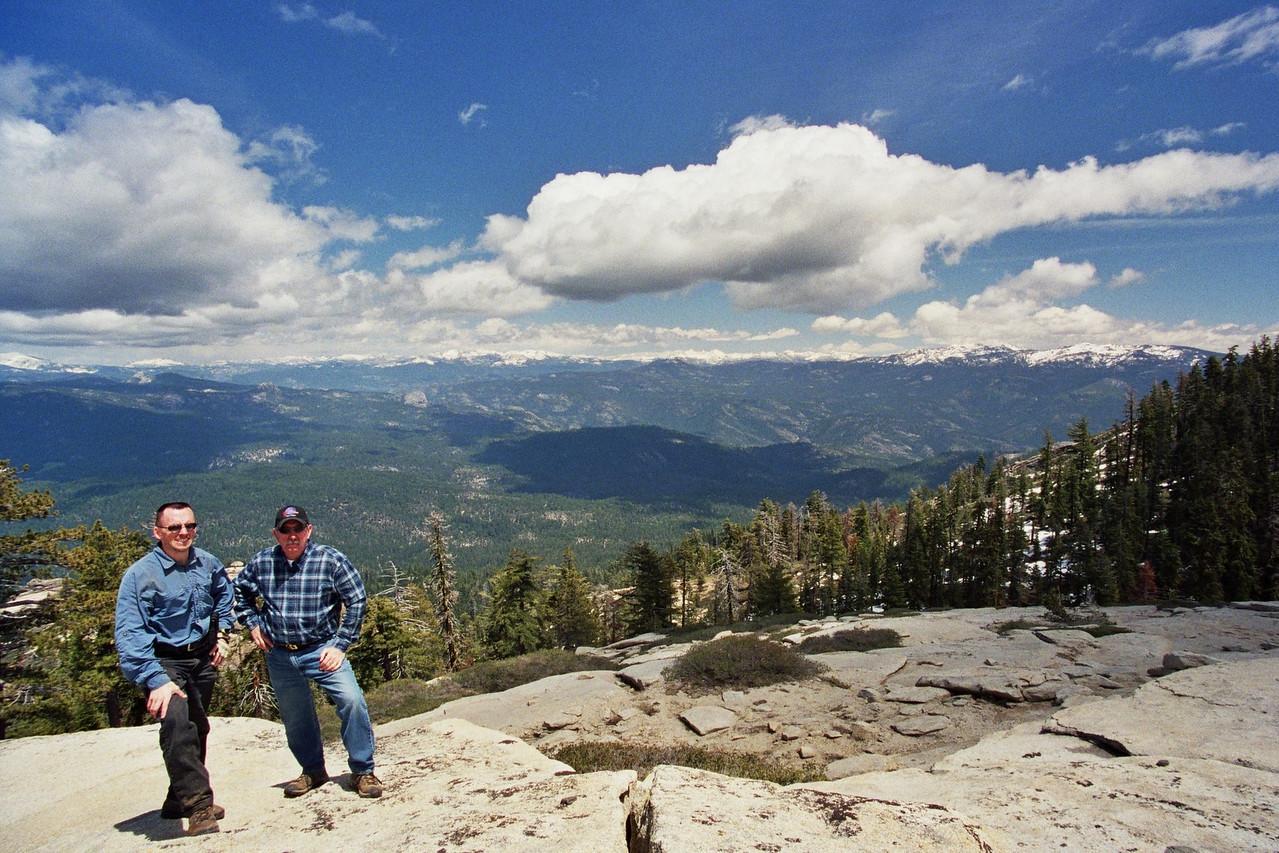 Dad & David, Shuteye Trail