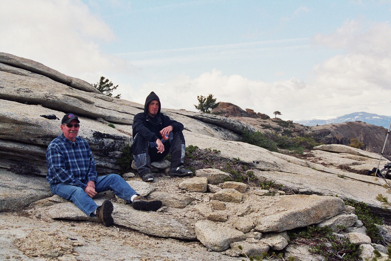 Dad & Jason on Shuteye Pk  Trail