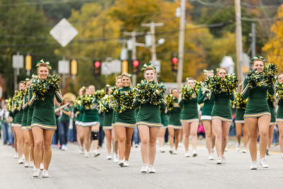 From the homecoming parade Saturday.