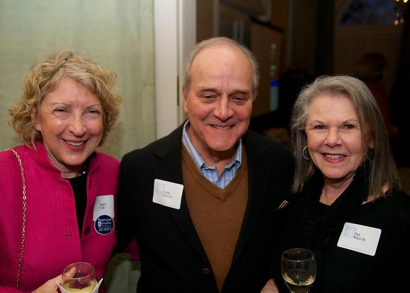 Shirley Carr, John & Pat Wilcox