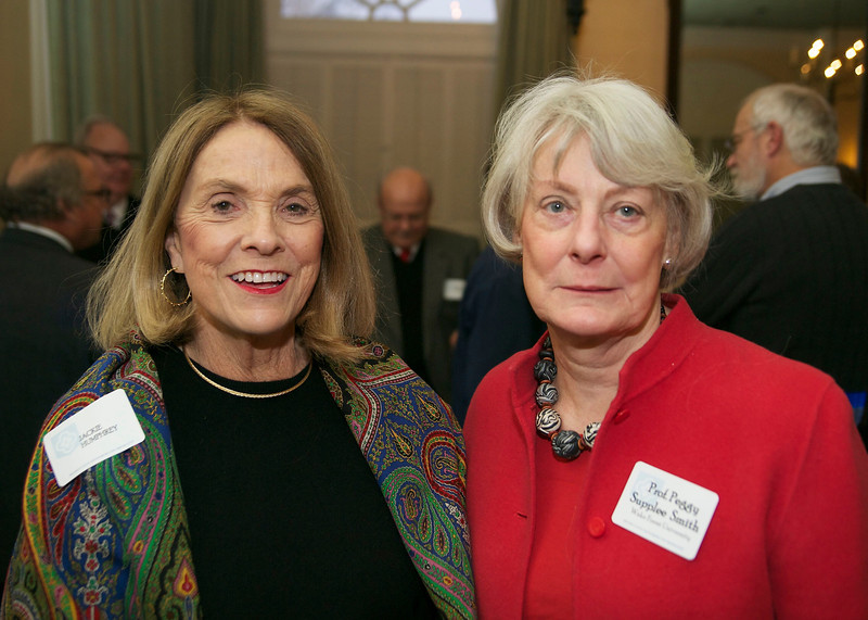Jackie Humphreys & Prof. Peggy Supplee Smith, the keynote speaker