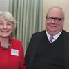 Prof. Peggy Supplee Smith, the keynote speaker, & Jim Collins