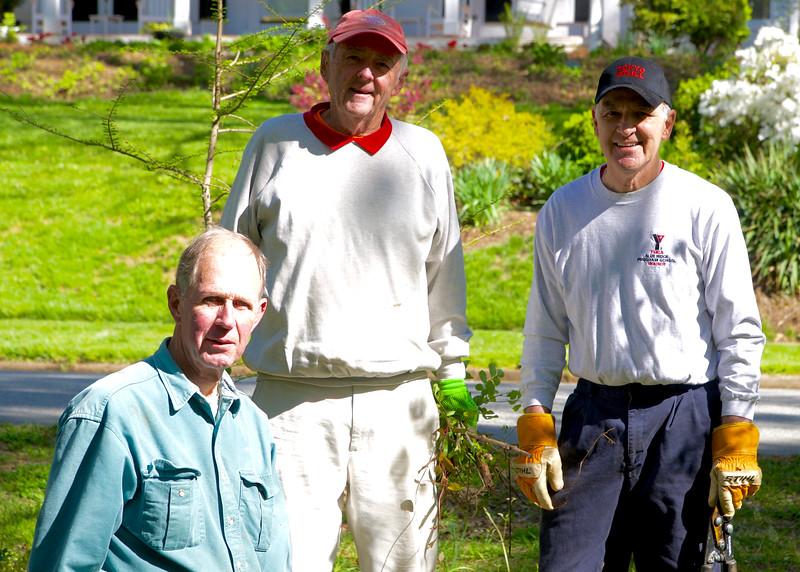 Robin Cobia, Ed Hines, & Stan Styers