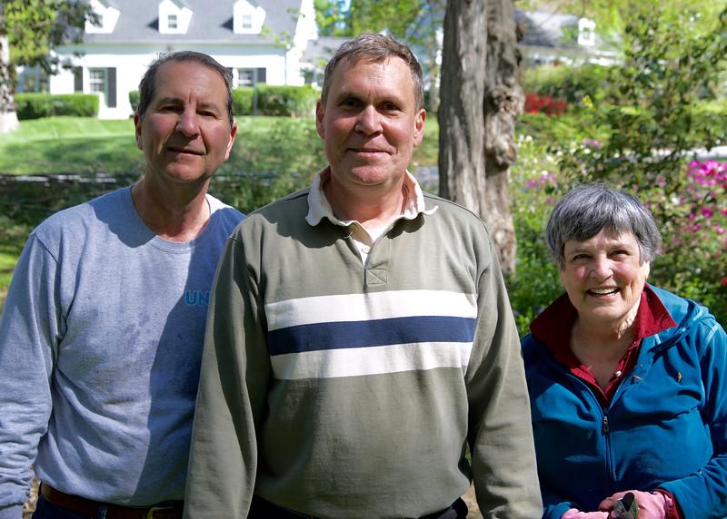 John Knowles, John Robinson, & Shelton Styers