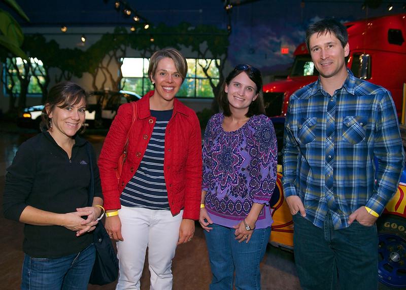 Brandye Peterson, Jennifer Jones, Kimberly Terry, Kelly Yates