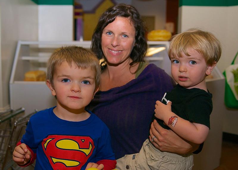 Evan, Sandra, & A.J. Dean