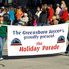 Greensboro Jaycees begin the parade