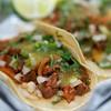 El Milagro Taqueria's El Pastor Tacos