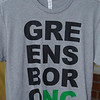 "A t-shirt that says ""GreensboroNC"""
