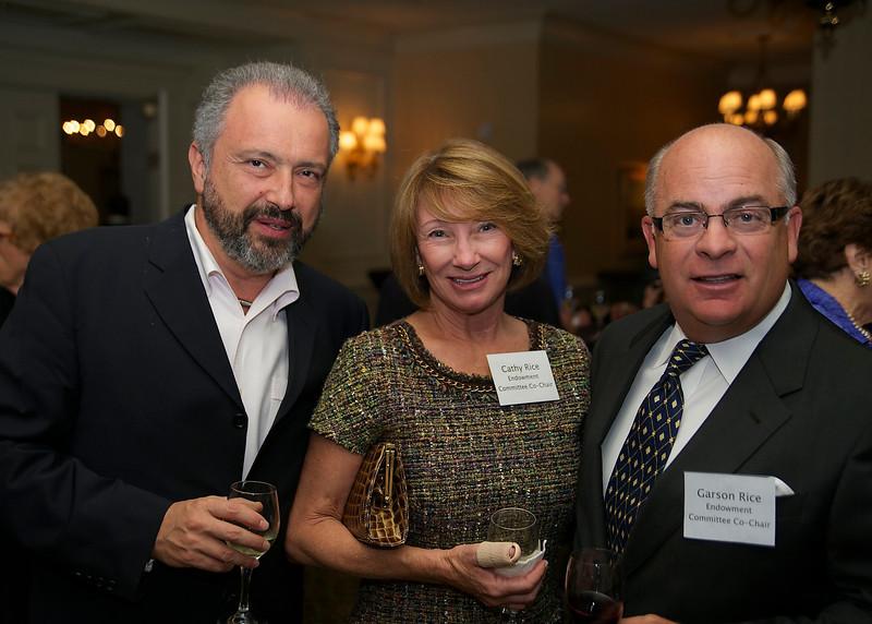 Maestro Dmitry Sitkovetsky, Cathy & Garson Rice