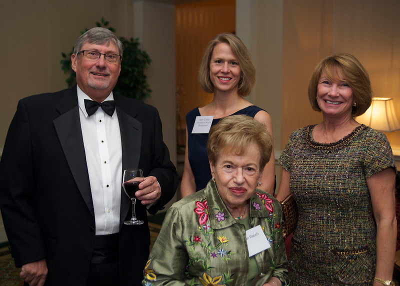 Steve Hutchinson, Amy Conley, Cathy Rice (rear); Lillian Rauch (front)