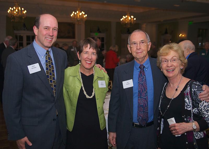 Cham & Carol Edmiston, Loy & Connie Newby
