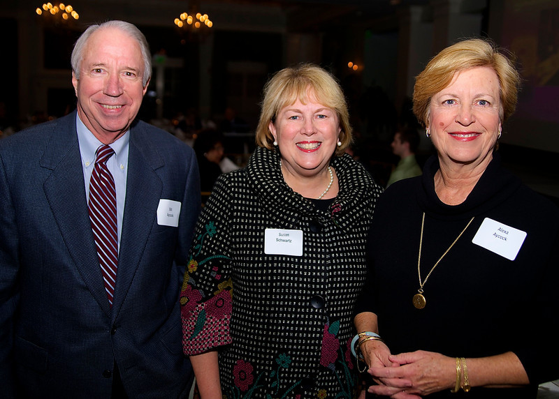 Bill Aycock, Susan Schwartz, Alexa Aycock