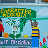 The new mural was dedicated at fun day