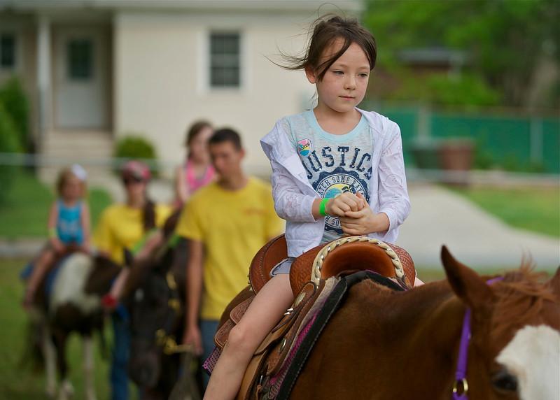 Pony rides were a favorite