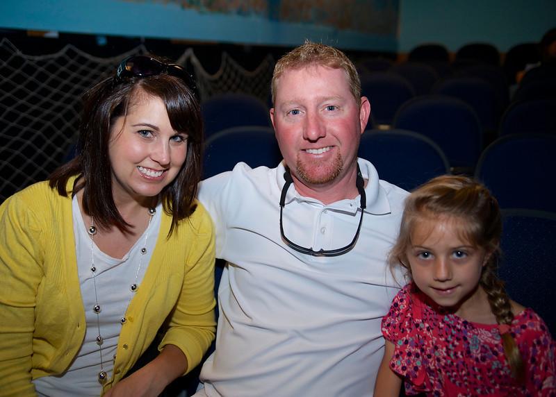 Stacie, Brad, & Jillian Beeson
