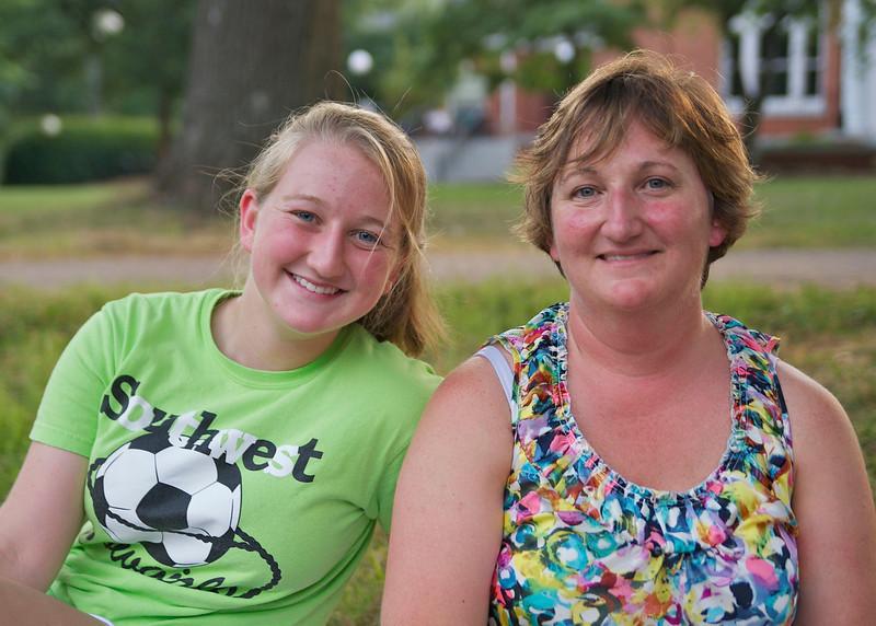 Becky & Gail Webster