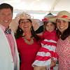 Kevin McKnight, Amy Brindley (Make-A-Wish Chapter CEO), Evelyn McKnight (Make-A-Wish Child), Jessica McKnight