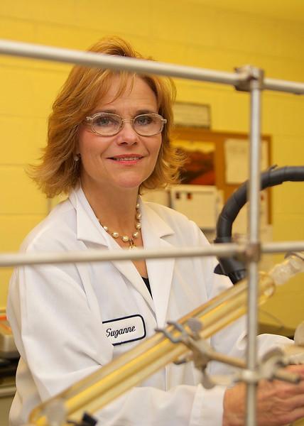 Suzanne Johnson, head chemist