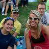Megan Barber, Leanna Forehand, (back row) Katie Morphis, Greg Barber