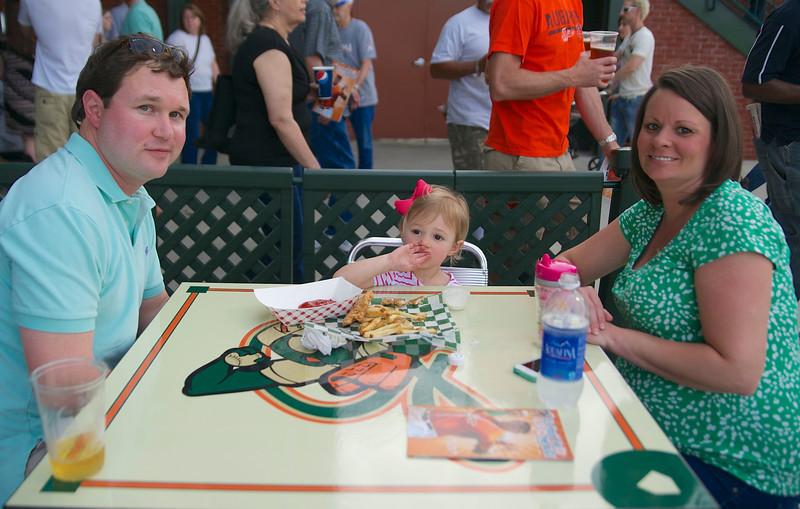 Jimmy, Lily James, & Megan Fesler