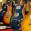 Gibson Guitars on display