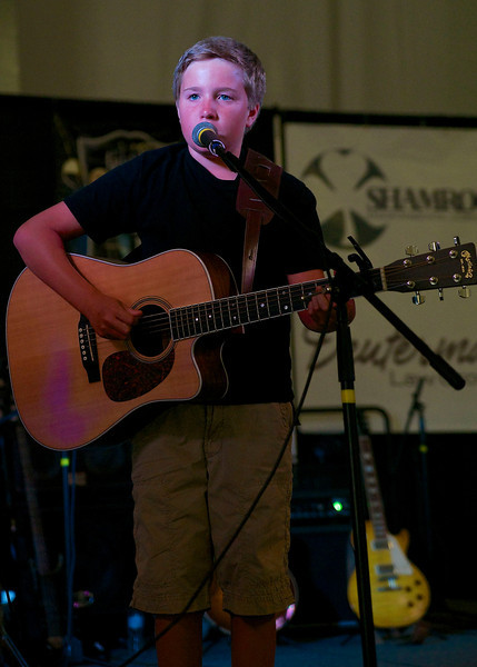 12-year-old Randford Short rocked the house
