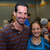 "Dan Hogan and Kristin Hogan, who won 3rd Place in the Young Writer's Category for her story ""The Spirit Saver""."