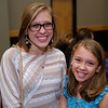 "Hannah Turner, Student Category Honorable Mention Winner for her story ""Little Artist"", and her sister Micah Turner."