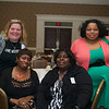 Deb Croteau, Inez Hough, Doris James, Deidre james