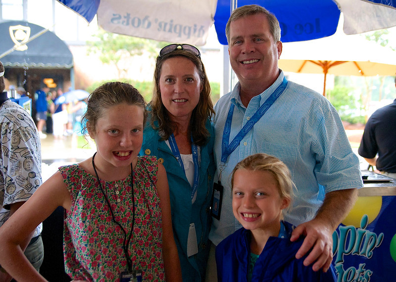The White Family (surprising to find one of those at a golf tournament)