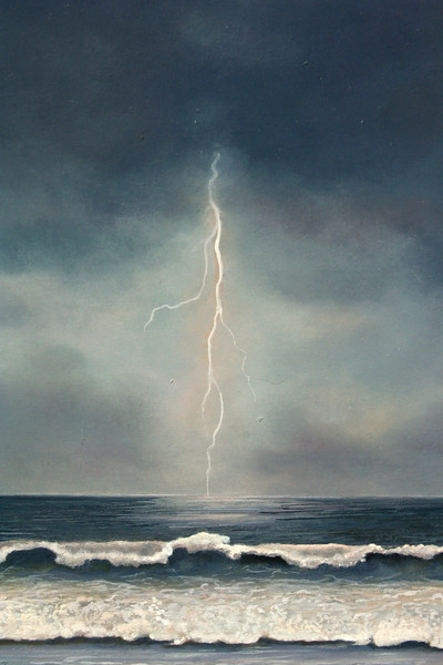 "DETAIL of ""STORM ON THE HORIZON"""